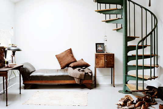 Leif Siegersens home in NYC Elle Decoration UK Ditte